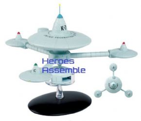 Star Trek Official Starships Collection Special #10 Deep Space Station K-7 Eaglemoss